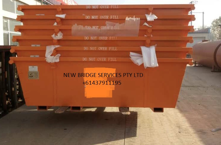 Heavy duty 6m3 skip bins