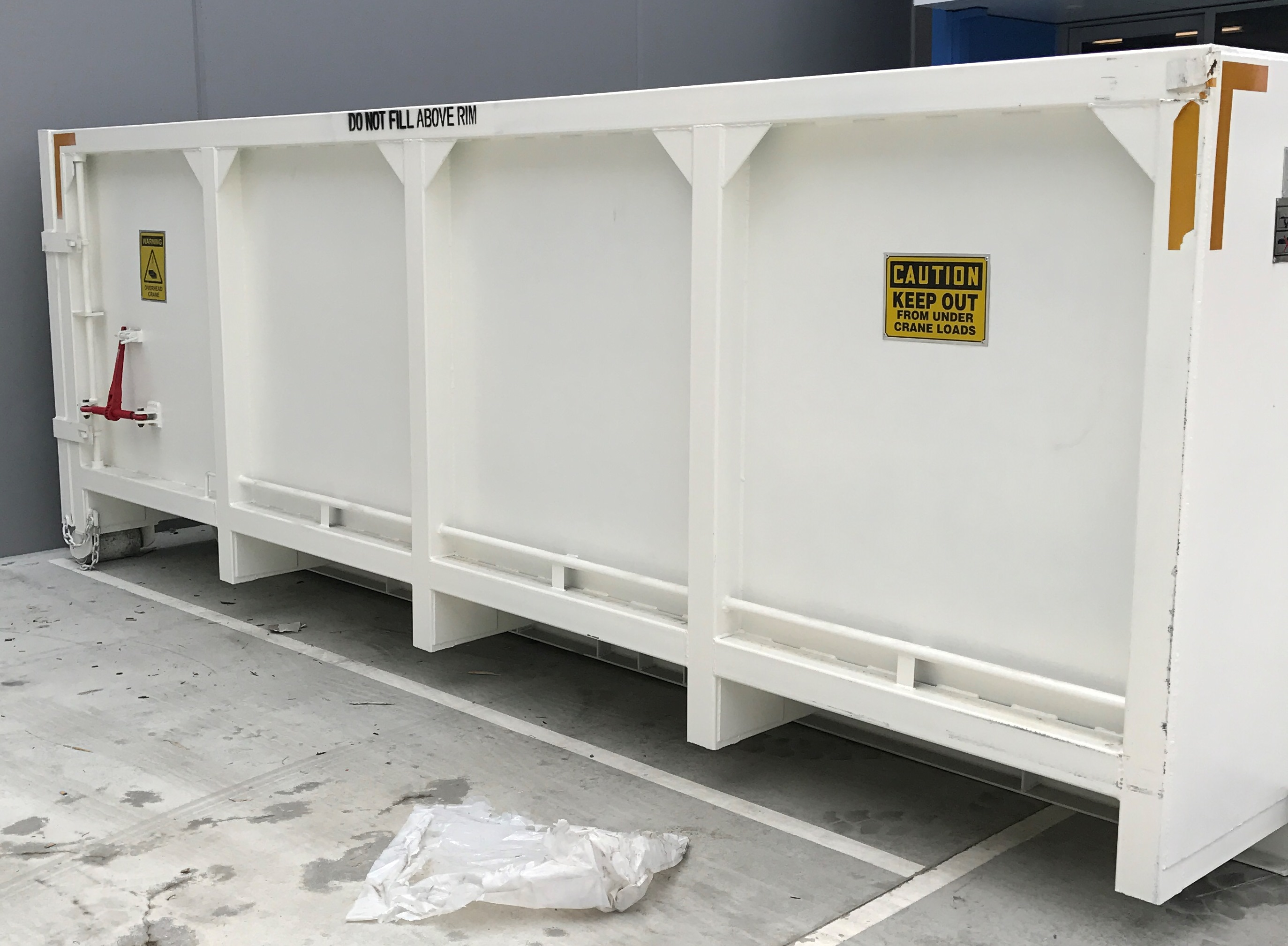 15m3 Heavy Duty Hook lift bin