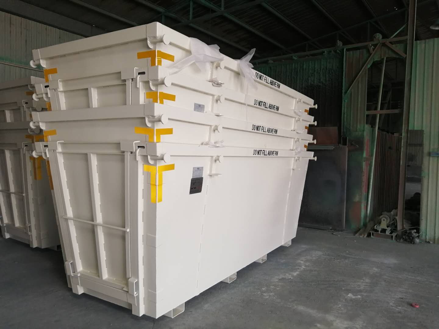 8m3 SKIP BINS HEAVY DUTY